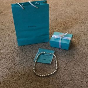 Tiffany Sterling Bead Necklace